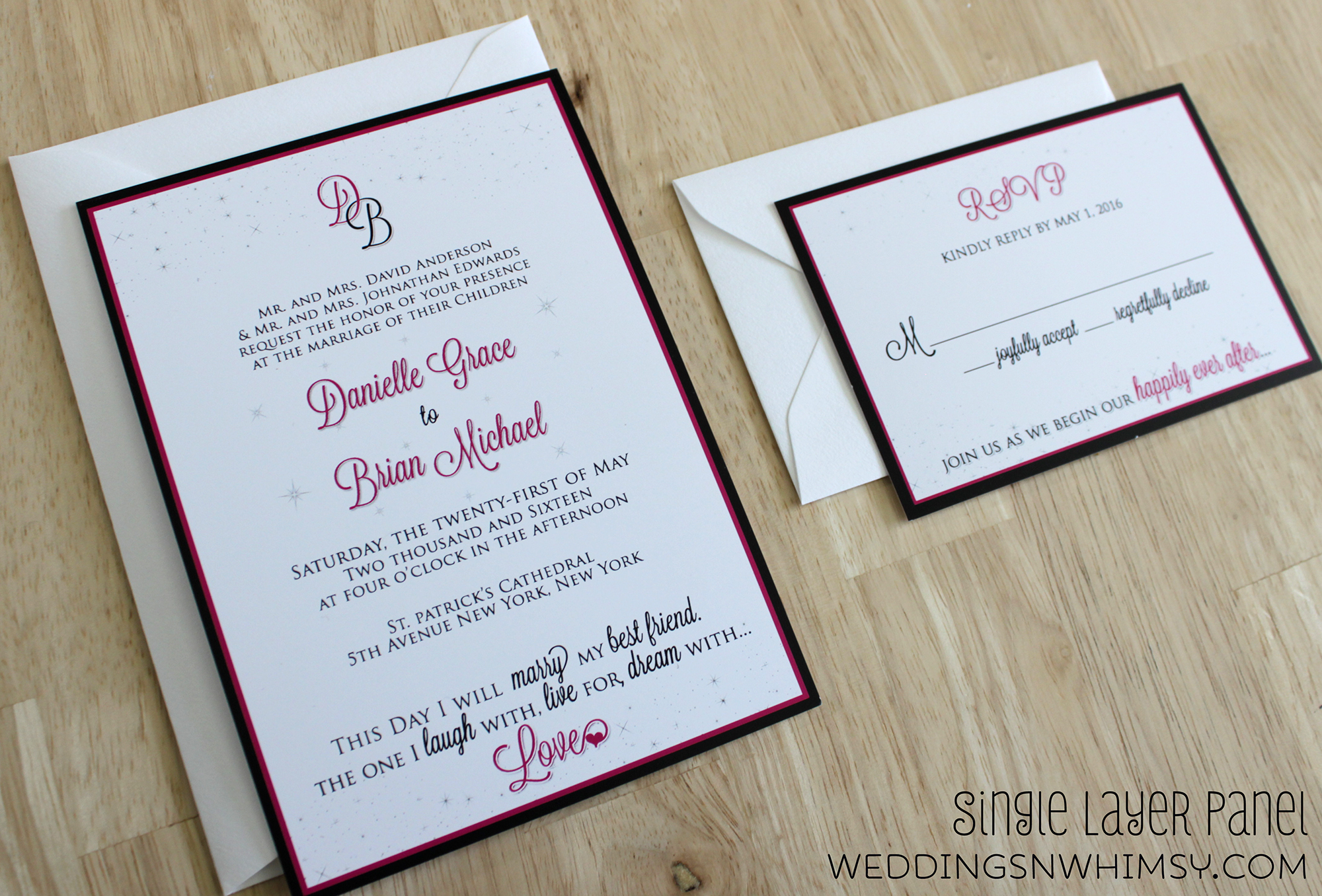 Happily Ever After – Fairy Tale Ending – Elegant Wedding ...